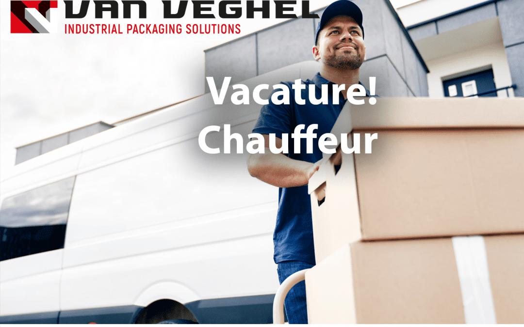 Vacature: Chauffeur